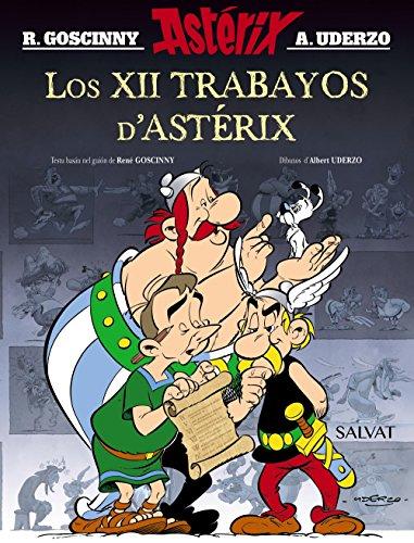 Los XII trabayos d'Astérix (Asturiano - A Partir De 10 Años - Astérix) por René Goscinny