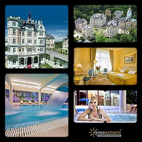 Schein da viaggio buono regalo 3giorni VIP LUXURY in 5* Savoy Westend Hotel in Karlsbad/Repubblica Ceca