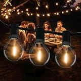 Catena Luminosa Esterno, Litogo 9,5m Luci da Esterno LED Catene Luminose per Esterni con 25+2 G40 Filo Lampadine…