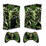 Xbox 360 Slim Designfolie Sticker Ski...