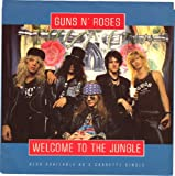 GUNS N ROSES/Welcome To The Jungle/45rpm record + picture sleeve
