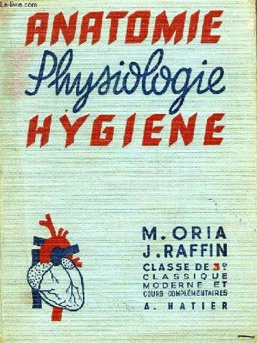 Anatomie Physiologie Hygiène Classe de 3ème