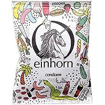 einhorn Kondome - 7 Stück - Wochenration - Design Edition: UUUH! PENISGEGENSTÄNDE - Vegan, Hormonfrei, Feucht, Geprüft
