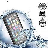 Für iPhone X /iPhone 10 Case Wasserdichte Hülle Outdoor Stoßfest Unterwasser Full Sealed Tasche Hülle Transparente Clear Waterproof Backcover IP68 Zertifizierung Staubdicht Schneedicht Schutzhülle
