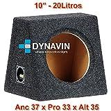 "Caja acústica universal para subwoofer de 8"" (200mm), 10"" (250mm), 12"" (300mm), 15"" (380mm), 18"" (450mm) (10"", Gris Oscuro)"