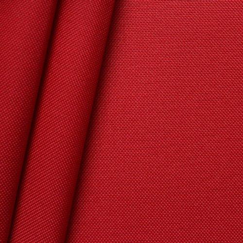 STOFFKONTOR Oxford Polyester Gewebe 600D Stoff Meterware Ferrari Rot