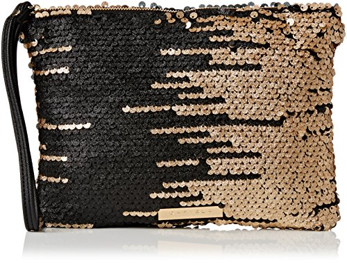 Carvela Womens Glamour Clutch Black/Comb