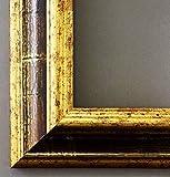 Bilderrahmen Bari 8247F-ORO ACIDO-H Braun Gold 4,2 - Über 14000 Größen im Angebot zur Auswahl - 64 x 115 cm - mit Normalglas - Maßanfertigung