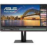 ASUS PA328Q 32'' Monitor Professionale, 4K (3840 x 2160), IPS, 100% sRGB, △E< 2, Flicker Free, Filtro Luce Blu…