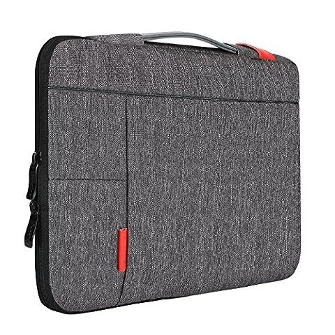 iCozzier 13-13,3 Zoll Laptoptasche mit Griff tragbare Laptoptasche Sleeve Hülle Schutztasche für 13
