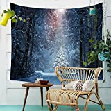 Tapisserie, Mandala Hippie Bohemian Wandbehang Sternenhimmel Forest Indischen Strand Gobelin Vorhang Bettdecke Sofa Handtuch Für Schlafzimmer Wohnheim Dekor-D W150xH130cm(59x51inch)