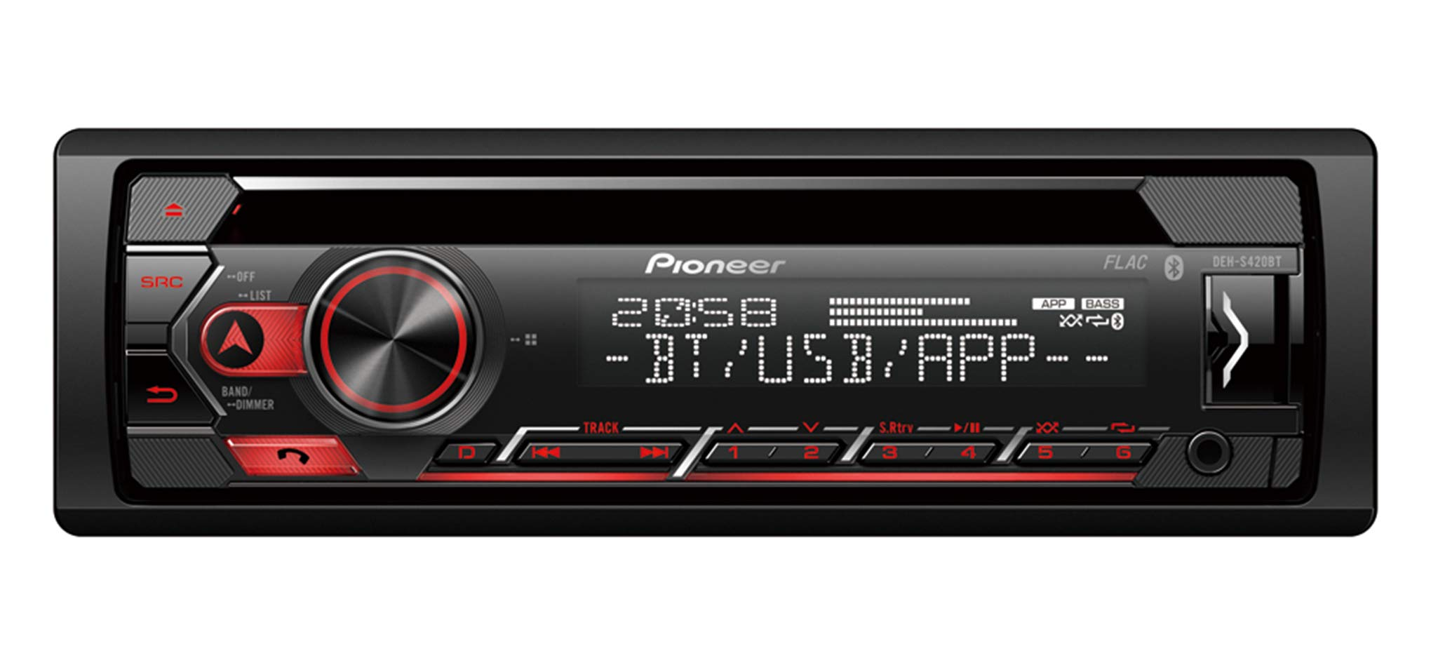 Pioneer-DEH-S420BT-Autoradio