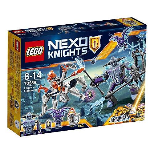Lego 70359 Nexo Knights Lance gegen Lightning .