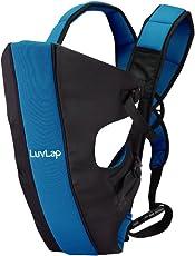 LuvLap Sunshine Baby Carrier (Black/Blue)
