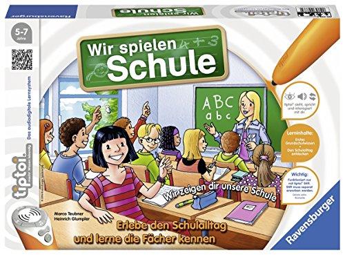 Wir spielen Schule - 00733 / Erlebe interaktiv einen kompletten Schultag (Geburtstag Spiele Für Mädchen)