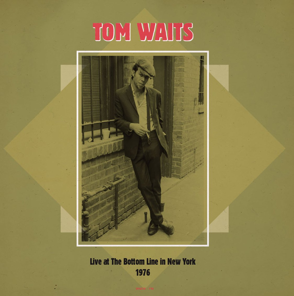 Tom Waits - Live at the Bottom Line. NYC 2lp