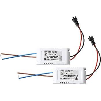 Transformator Treiber Driver LED Lampe Trafos 8-12W Weiß