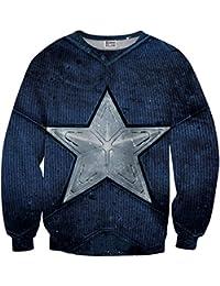 Sudadera Sweater Azul Estrella MV-MA036