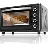 Cecotec Bake&Toast 750 Gyro - Horno Sobremesa, 2000 W, 12 Modos, Temperatura hasta 230ºC y Tiempo hasta 60 Minutos, Incluye A