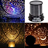 Absales Romantic LED Cosmos Star Master Sky Starry Night Projector Bed Light Lamp