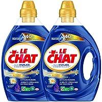 Le Chat Lessive Liquide Huile Essentielle Lavande Bleu 1,95 L -