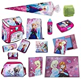 Disney die Eiskönigin Schulranzen Set 21tlg. Scooli Campus Up mit Sporttasche und Schultüte 85cm FRQA8252-GR