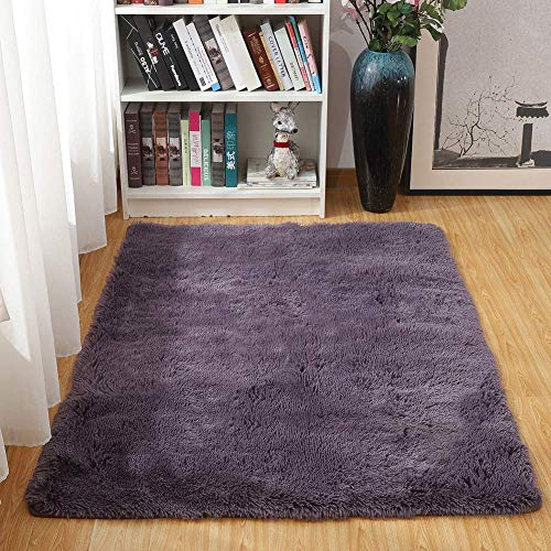 Txyk Alfombras Ultra Suaves para Interiores, Interiores y Suaves Alfombras de Sala de Estar...