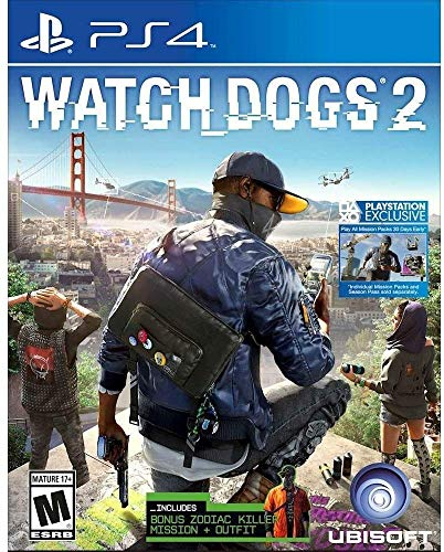 Watch Dogs 2 PS4, Limited Edition (Limited Edition Watch Dogs)