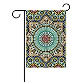 LIANCHENYI Färbemittel für Arabisch-Klassisches Design mit Flagge der Familie, doppelseitig Polyester-Partei-decro Garten-Flagge, 12x 18,