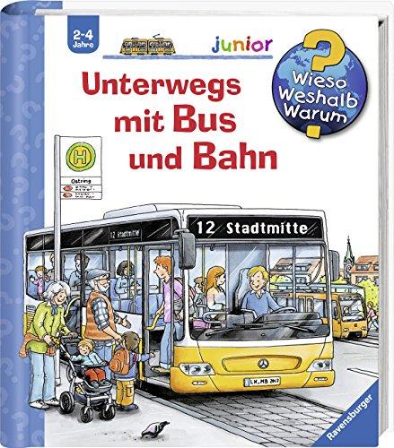 Unterwegs mit Bus und Bahn (Wieso? Weshalb? Warum? junior, Band 63) Christian-spielzeug Für Kinder