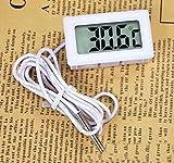 RICISUNG Digital LCD Thermometer f Aquarium -50~+70C+Saugfuß NEU