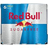 Red Bull Energy Drink Sugar Free (6x250ml) - Paquet de 2