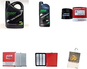 Filterpaket 6 Liter 5W30 DPF Motoröl und 3 Filter