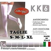 Calze Autoreggenti 1 PAIO Post-Parto e Post-Operatorie Antitrombosi a Compressione Graduata KK6 - Made in Italy (S…