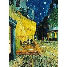 """Clementoni - Puzzle grandes museos 1000 piezas van gogh: """" café de noche exterior """" (31470)"""