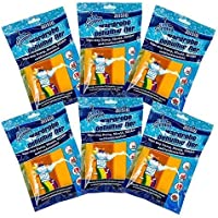 Wardrobe Dehumidifier, Condensation Remover, Moisture Absorber, Dehumidifiers for Damp, Mould, Moisture in Wardrobe, Bedroom, Caravan, Bathroom, Basement - 210 g Pack of 6