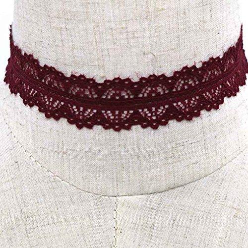 höhlen heraus Kunst Spitze Kniting Gothic-Anhänger Halsketten-Armband-Hals Dekoration ()