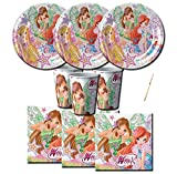 IRPot - KIT N 2 COMPLEANNO WINX CLUB BUTTERFLIX