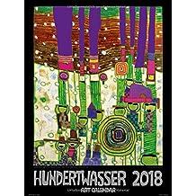 Großer Hundertwasser Art Calendar 2018: Der Klassiker