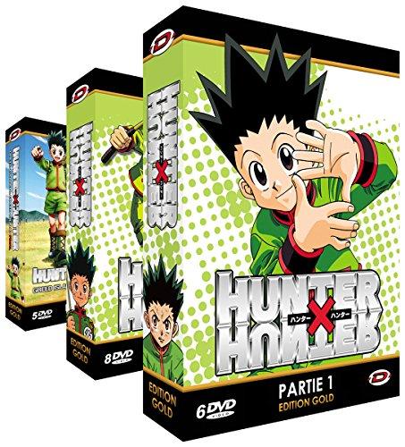 Hunter X Hunter - Intégrale + OAVs - Edition Gold - 3 Coffrets (19 DVD + Livrets)