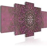 murando - Cuadro 200x100 cm - Mandala - Impresion en Calidad fotografica - Tejido-no...
