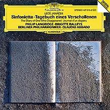 Janácek : Sinfonietta ; Tagebuch eines Verschollenen (Journal d'un Disparu)