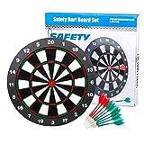 VΛ Vλ//Dart Board Sichere Darts 45,7cm Professionelle Dartscheibe Set Soft Tip Darts für Kinder und Erwachsene