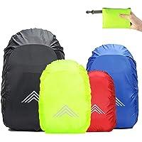 Frelaxy Regenschutz für Rucksäcke Schulranzen(15-90L), Wasserdichter Rucksack Regenhülle Regencape mit Reflektoren…