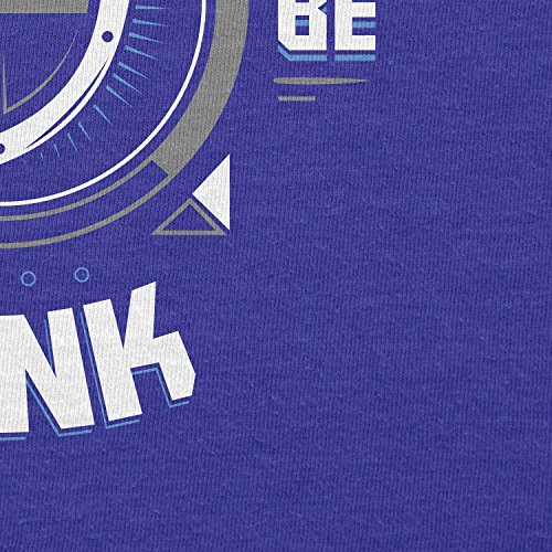 TEXLAB - Born to be Tank - Herren Langarm T-Shirt Marine