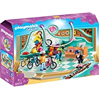 Playmobil - 9402 - Jeu de Construction - Vélo et magasin de patins