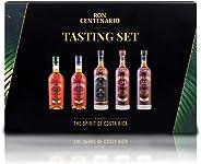 Rum Tasting Set Ron Centenario - vielfach mit Gold ausgezeichnete Weltklasse-Spirituose - das perfekte Geschenk für Rum - Lie