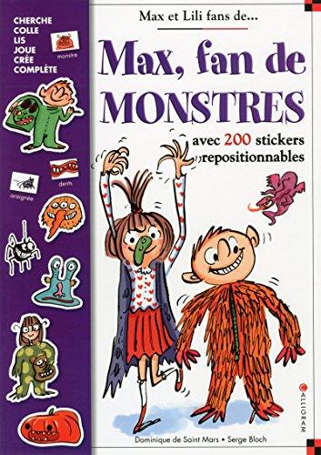 Max, fan de Monstres - Stickers