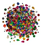Lots Of Mixed Sequins Assorted Shapes Colours And Sizes Kids B Crafty®