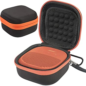 bff43967ae COMECASE Hard CASE Cover for Bose SoundLink Micro Bluetooth Speaker - Black